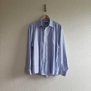 Johnston and Murphy Tailored Fit Long Sleeve